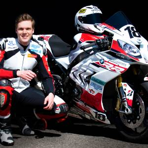 Joris Lentfert ook in 2021 op de BMW van start in IDC Dutch Superbike klasse