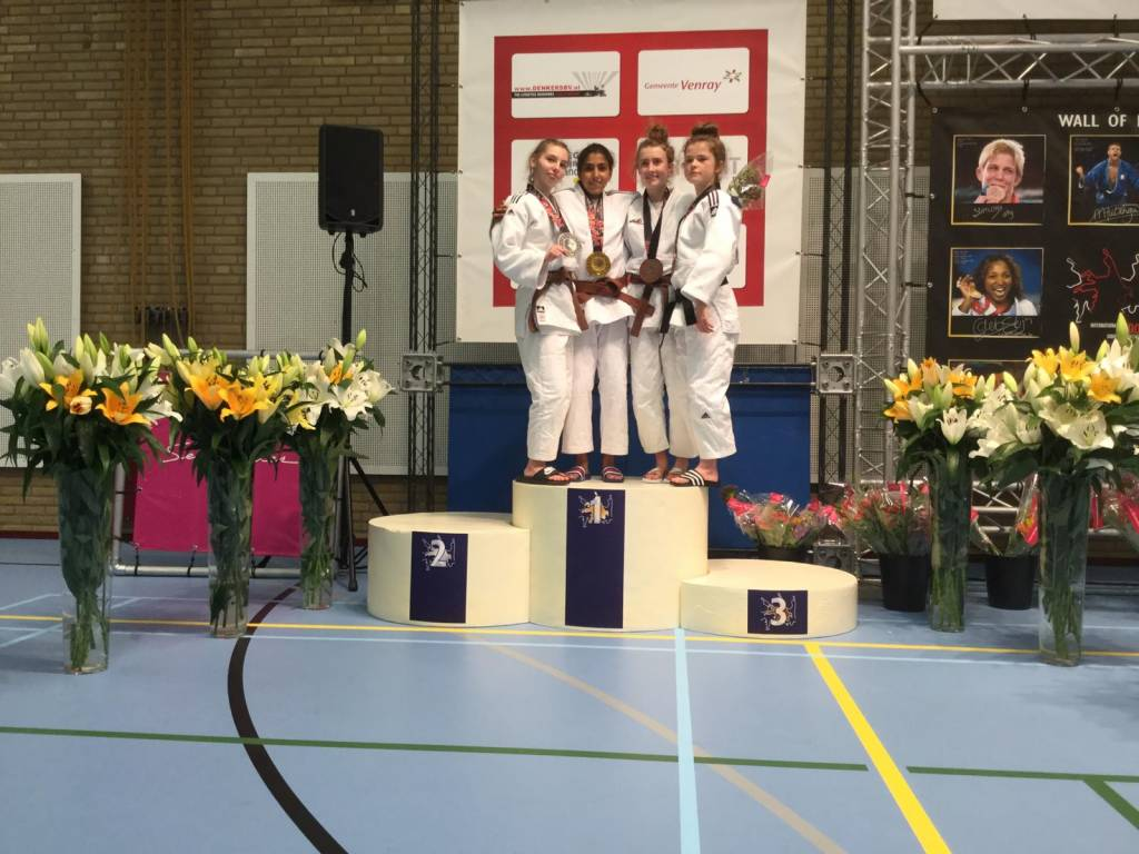 Nohade wint goud