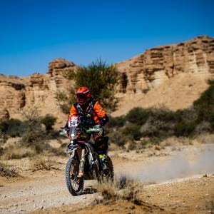 Mirjam finisht als 41e in de Dakar rally 2020